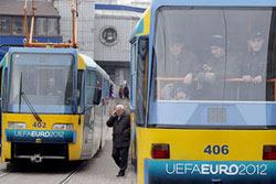 Скоростной трамвай возобновил работу
