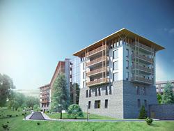 Rezidor представил курортный отель Radisson Blu Resort, Буковель