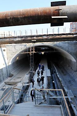 Станцию метро «Выставочный центр» откроют в конце декабря