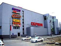 Площадь львовского ТЦ «Скриня» увеличится