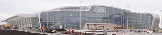 Завершено строительство нового терминала аэропорта «Львов»