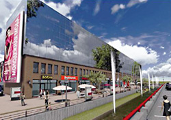 В Симферополе завершается строительство нового ТРЦ