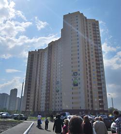 «Киевгорстрой» открыл три жилых дома