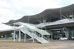 В аэропорту «Борисполь» открылся крупнейший в стране терминал