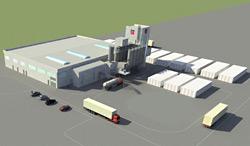 Строительство завода Baumit по производству ССС завершится в сентябре