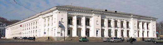 Гостиный двор в Киеве реконструируют