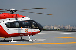 В Киеве открылся вертодром